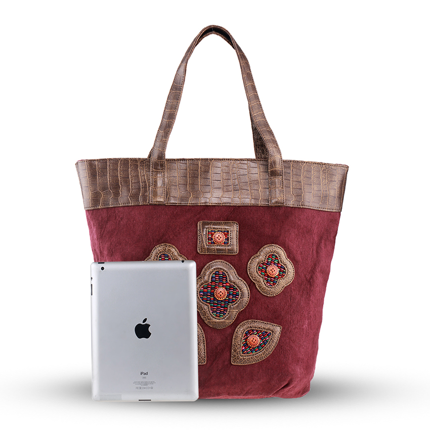 ca9624210 YUBIRD bolso de totalizador de la lona Floral Casual bolso de tela de mujer  Retro, bolso bolsa de viaje de fin de semana bolso Handtassen en Bolsas de  ...