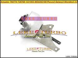 Turbo elektryczny siłownik 760774 728768 1231955 1327582 1331247 1406472 9654262180 9858728580 dla Focus II Galaxy 2 dla Mondeo 3