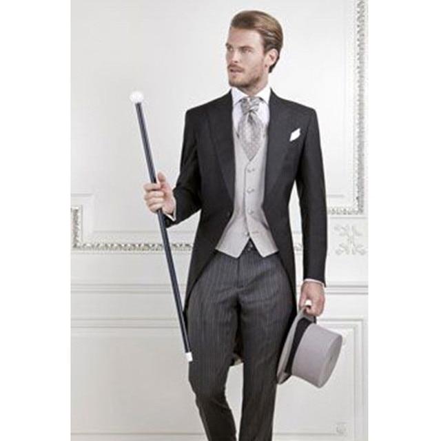 Men\'s Wear High Quality Men Suits Groomsmen Custom Wedding Suit One ...
