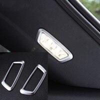 2 adet ABS benz için GLC200 260 300 Gövde el feneri Dekoratif çerçeve sticker