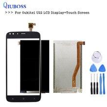 Для Oukitel u22 ЖК-дисплей Дисплей + Сенсорный экран сборки Аксессуары Для цифрователя для U22 телефон ЖК-дисплей u22 Дисплей бесплатная инструменты