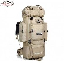 Locallion большой Для мужчин спортивная сумка 85L открытый Водонепроницаемый путешествия рюкзак военный мужской восхождение Пеший Туризм Отдых Молл Тактические Сумка