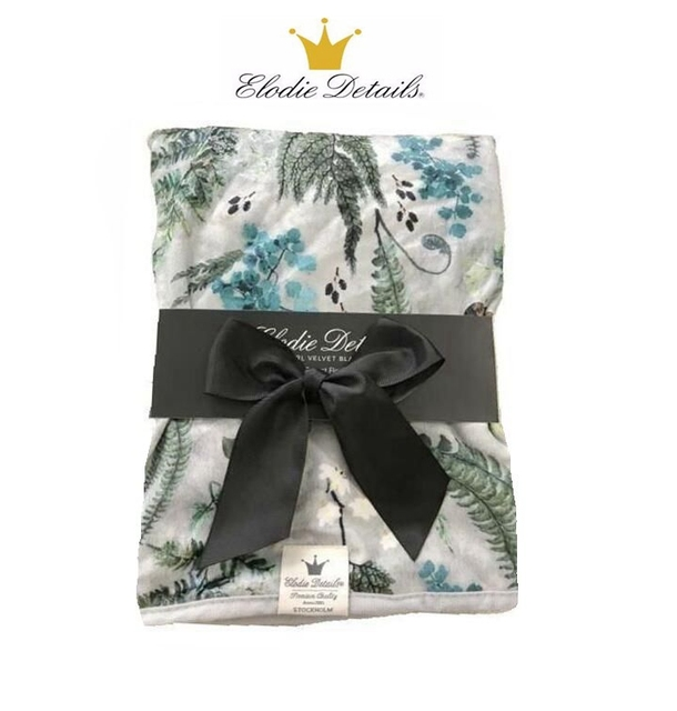 Elodie details Velvet Baby Blanket Quality Baby Swaddle Blanket spring And Autumn