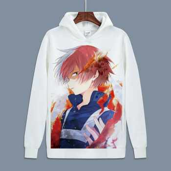 Hot My Hero Academia Cosplay Todoroki Shoto Pullover Sweatshirts Boku no Hero Academia Izuku Midoriya Fleece Hoodies for Autumn - DISCOUNT ITEM  12 OFF Novelty & Special Use