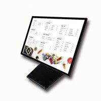 Table Led Menu Board Slim Light Box Advertising Poster Landscape Display for Cafe,Tea,Hotel,Restaurant 40x60cm