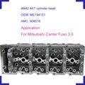 4M42 motor auto zylinderkopf OEM ME194151 AMC 908516 für Mitsubishi Canter Pajero Fuso 3.0L 2007 L4 DOCH 16 V|Zylinderkopf|Kraftfahrzeuge und Motorräder -