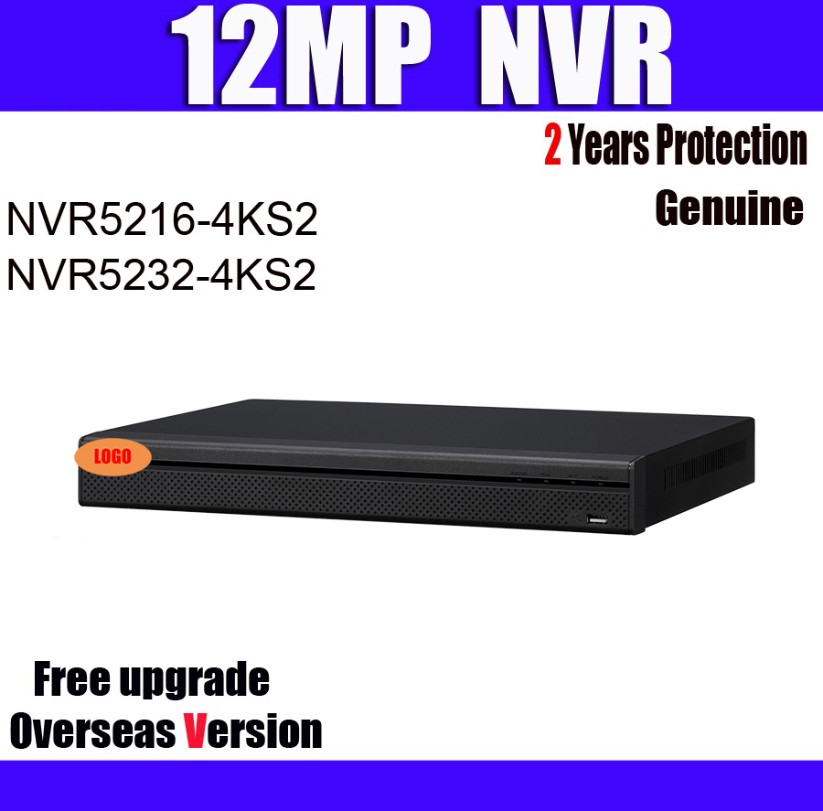NVR NVR5208 4KS2 NVR5216 4KS2 NVR5232 4KS212MP resolution 8 16 32CH 1U 4K H 265 NVR