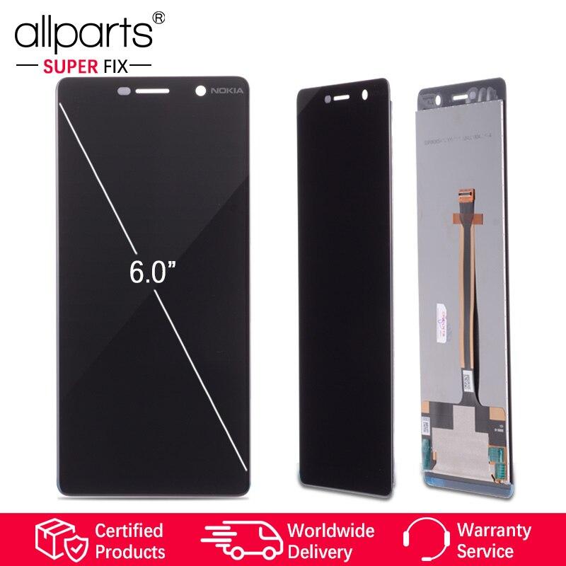 6.0 Affichage D'ORIGINE pour Nokia 7 Plus LCD 7 Plus Affichage Écran Tactile TA-1062 LCD Digitizer Replacment pour Nokia E9 Plus LCD