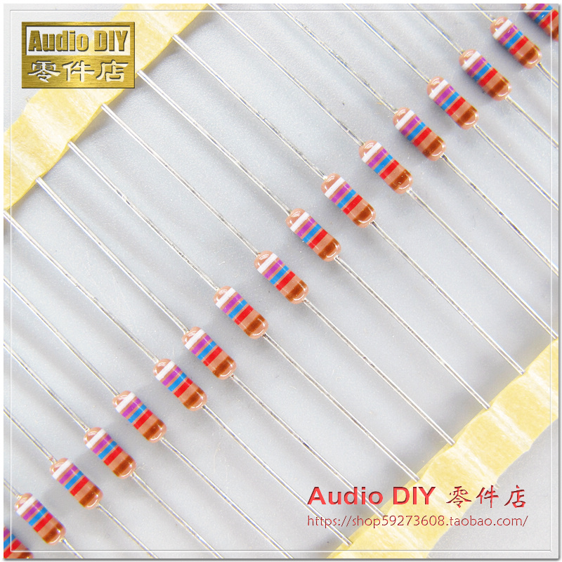 2018 Hot Sale 30PCS/50PCS VISHAY DALE CCF55 Series 97.6K/0.25W-0.5W 1% Axial Metal Film Color Ring Resistors Free Shipping