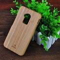 Alta calidad de bambú natural real case para htc one max t6 8088 8060 cubierta de madera de madera dura para htc one max t6 case