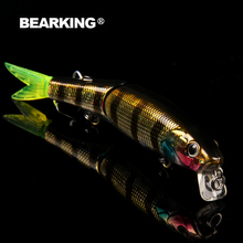 Bearking brand 5PCS Minnow Fishing Lure Laser Hard Artificial Bait 3D Eyes 8.8cm 7.2g Fishing Wobblers Crankbait Minnows