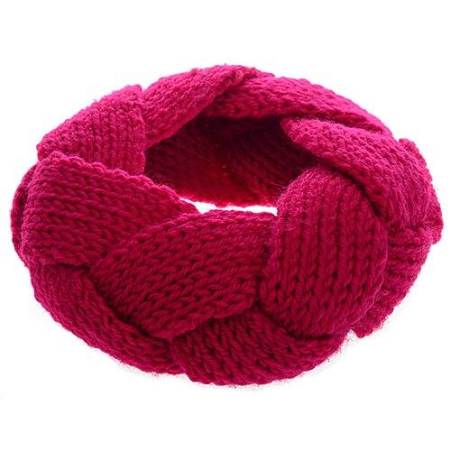 Hot Colorful 1Pc Crochet Twist Knitted Head Headband Hairband for Women Girls 5BQQ 7FXG
