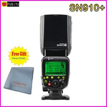 Shanny SN910+ Speedlite Master Flash i-TTL 1/8000s GN60 Flashgun Speedlight for Nikon D800 D610 D750 Camera