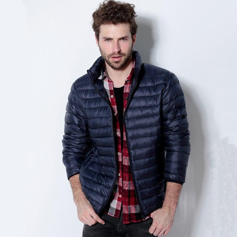 2014 Brand Men Down Jacket Plus Size Fashion Winter Jacket Ultra ...