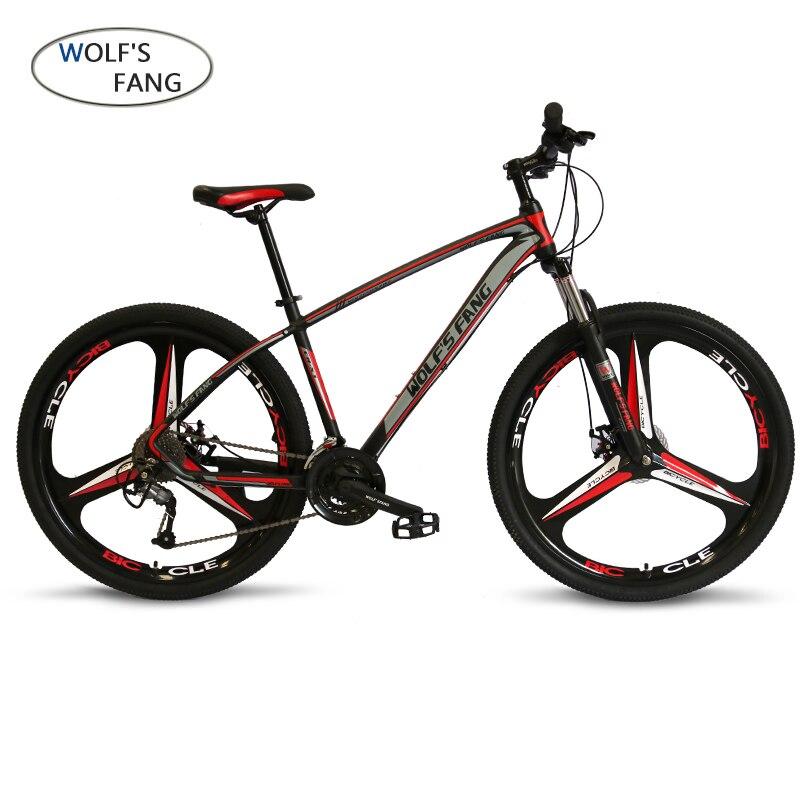 Loup fang de Vélo 27-vitesse VTT 29-pouces pneu route cadre de vélo taille 17-pouces produit unisexe résistance livraison gratuite