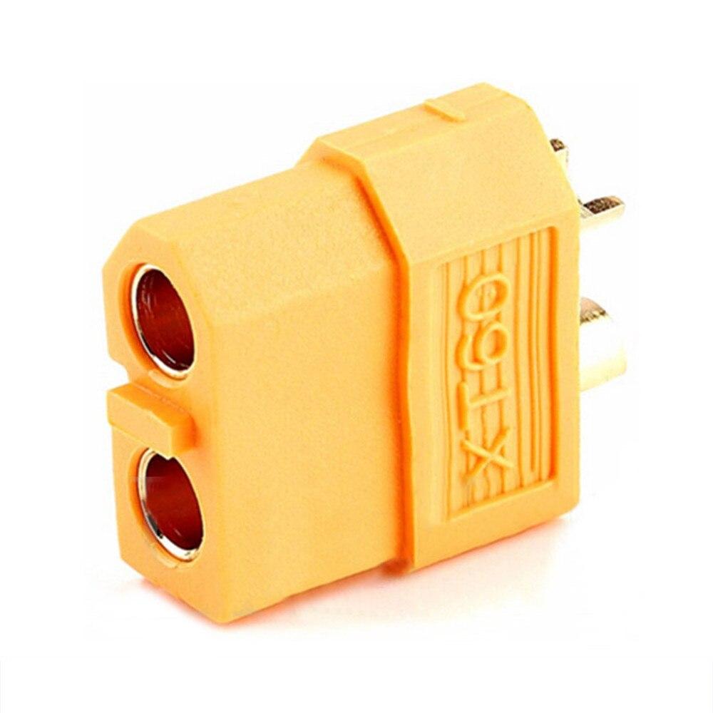 Image 3 - Parts & Accs 5 pair XT60 connector Male Female Golden Nylon 200  Temperature Balance car battery connector, Drone accessories-in Parts & Accessories from Toys & Hobbies
