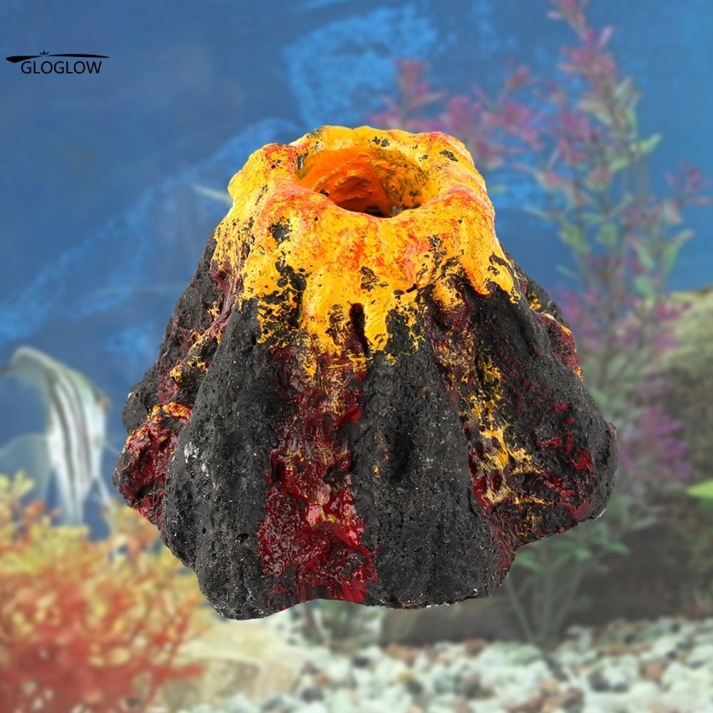 Volcano Aquarium Decoration
