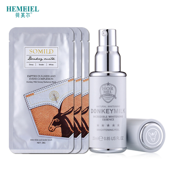 Donkey Milk Skin Care Set Moisturizing Tender Facial Mask Whitening Face Cream Anti Aging Serum Blemish Remove Korean Cosmetics