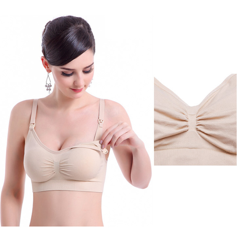 Feeding Underwear Sets Pregnancy Clothes For Nursing Women's Panties+Bras 2Pcs Maternity Clothings 6 Colors Brand Cotton Bra Plu