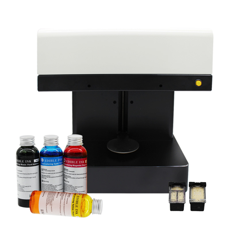 Edible ink coffee printer 3D digital inkjet printing machine Latte art coffe printer selfie latte cappuccino coffee printer coffee and food printer inkjet printer selfie coffee printer full automatic latte coffee printer with 8 inch tablet pc