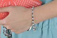 новое прибытие золотой цвет или цепи браслеты для женщин мода кристалл цирконий браслет и браслет бесплатная доставка 2016 5brw-39
