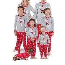 Christmas Family Pajamas Set 2019 Newest Xmas Father And Mother Kids