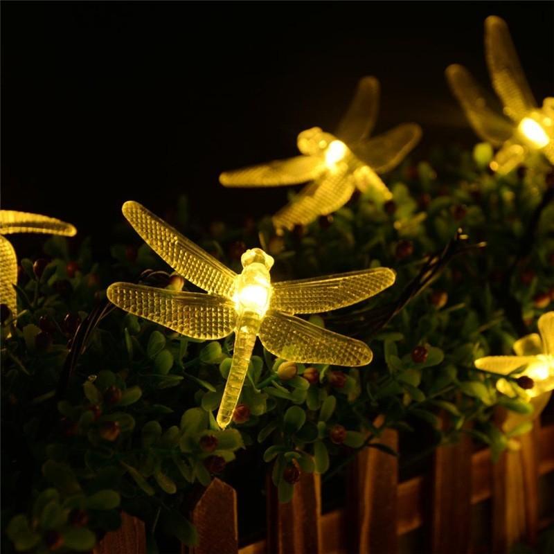 lederTEK Brand Solar Christmas Lights 19.7ft 6m 30 LED (5)