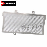 For Kawasaki ER 6N 2012 2015 Radiator Grille Guard Cover Fuel Tank Protection