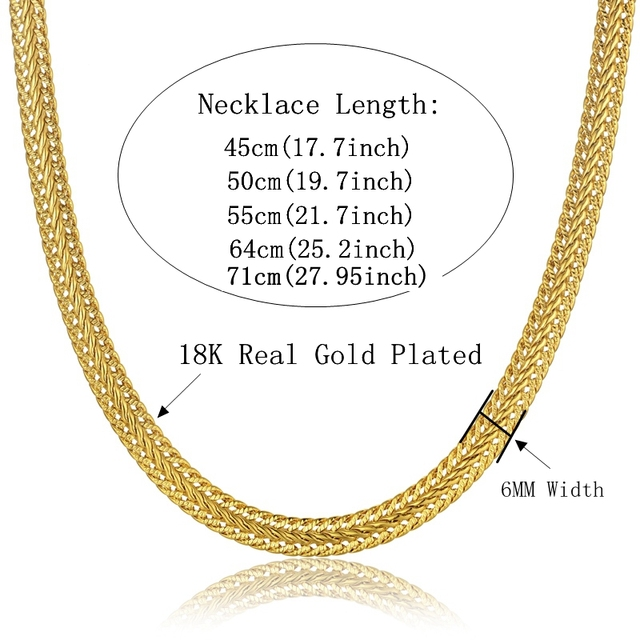 Punk 6mm Snake Neck Chains For Men Women Wholesale Gold/Silver Color Chokers Long Collier Necklace Jewelry Dropshipping XL776
