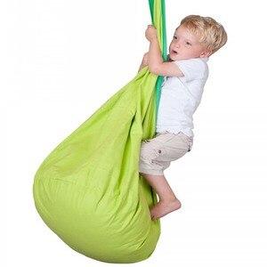 Image 2 - 뜨거운 판매 어린이 해먹 키즈 스윙 의자 실내 야외 매달려 sest 어린이 스윙 좌석