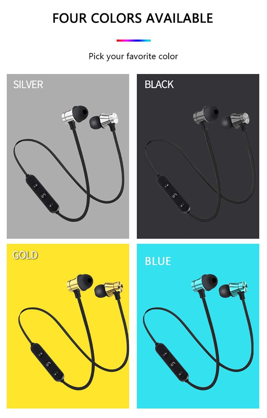 Newest Wireless Headphone Bluetooth Earphone Headphone For Phone Neckband sport earphone Auriculare CSR Bluetooth For Smart Phone 003