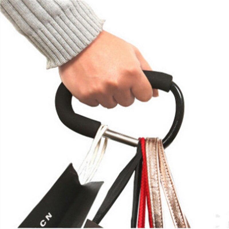 Aluminium Baby Stroller Hooks High Quality Button Carabiner Shopping Bag Carriage Hooks Pushchair Stroller Accessory Hook/