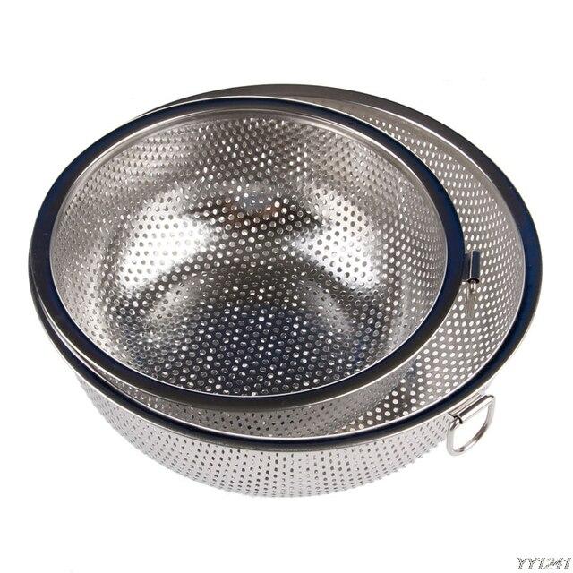 1 pieza Unid cocina malla tamiz colador tamiz arroz cesta de comida  limpieza Gadget cocina Clips 099bbe8f8bc7
