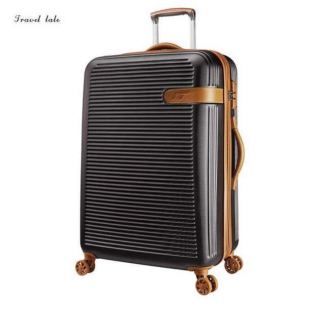 Travel tale Simple, noble, frosted 19/25/29 inches PC High quality Rolling Luggage Spinner brand Travel Suitcase