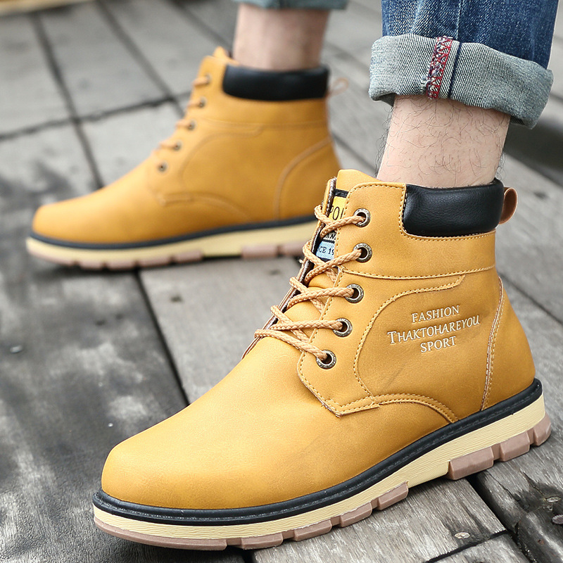 Ouest Hiver Rond Black Hommes Boucle short Bottines bleu Bottes Cowboy marron Mode Cheville short Chaussures Solide Brown short jaune Couleur Casual Noir Bout Plush Yellow short De Blue wPz0wxqrnR