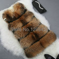 Free shipping 2014 new specials fur vest raccoon fur vest The fox fur coat of fur vest female whole long clip cotton in the skin