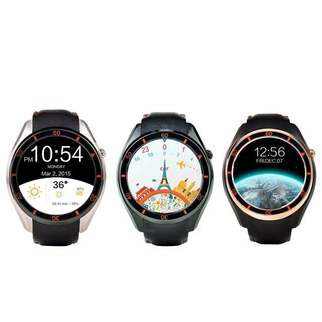 Новейшие I3 MTK6580 WI-FI GPS Android 5.1 OS Smart Watch Силикона кожаный Браслет SIM Для Google Map Сердечного ритма 3 Г Сети Часы