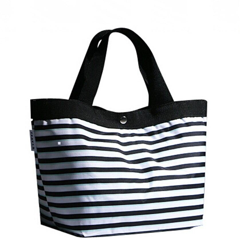 Bolsa Feminina : Women waterproof canvas beach bag designer handbags high