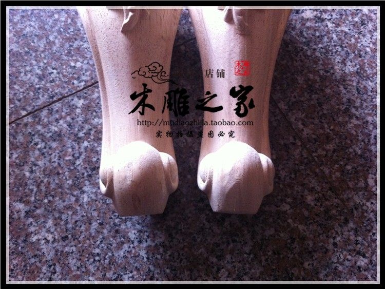 Dongyang Wood Carving European Table Legs Of The Table Legs Tv