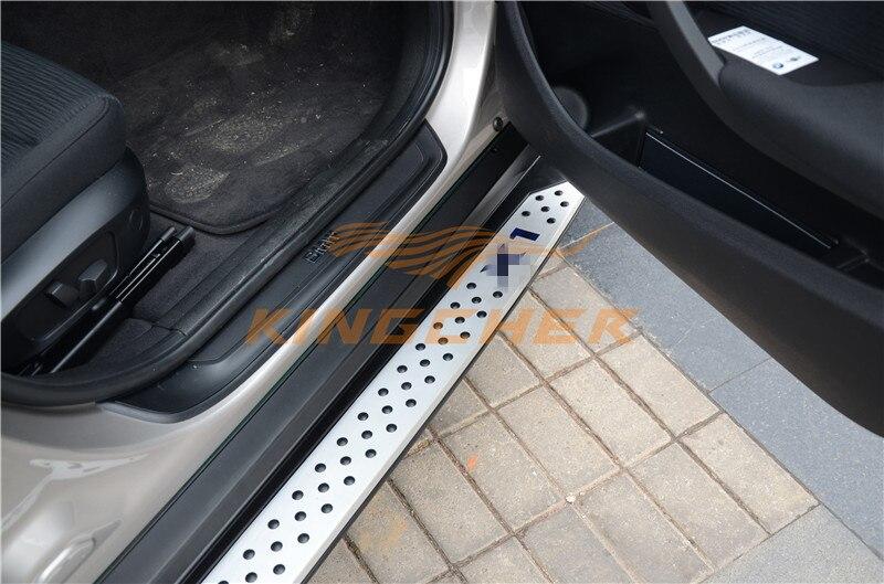 Высокое качество алюминий подножка Nerf бар для BMW X1 E84 2010 2011 2012 2013