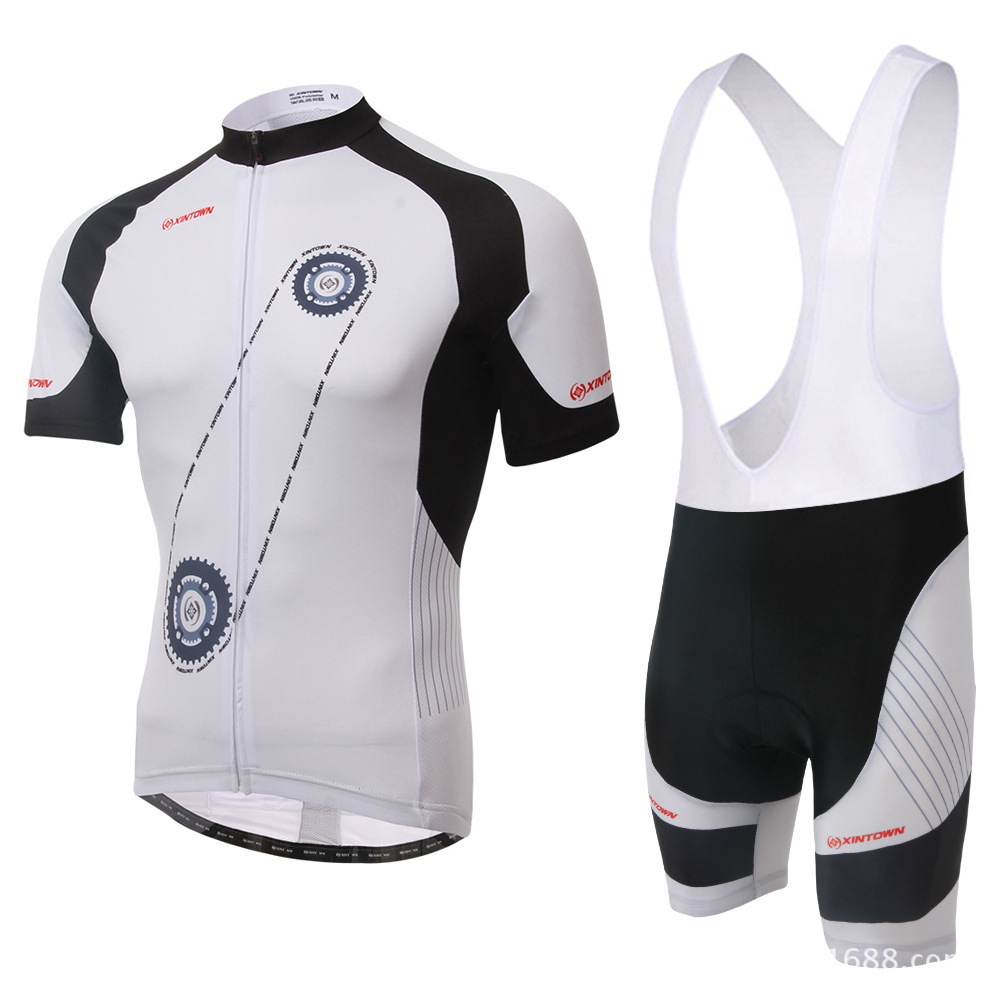XINTOWN Pro Team Cycling Jersey Bicycle Clothing Short Sleeve Shirt 3D Pad Bib Shorts Set Breathable Quick Dry Men Ropa Ciclismo polyester summer breathable cycling jerseys pro team italia short sleeve bike clothing mtb ropa ciclismo bicycle maillot gel pad