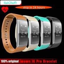Новый iwown iwownfit I6 Pro смарт-браслет монитор сердечного ритма IP67 Водонепроницаемый умный Браслет фитнес-трекер поддержка Andriod IOS