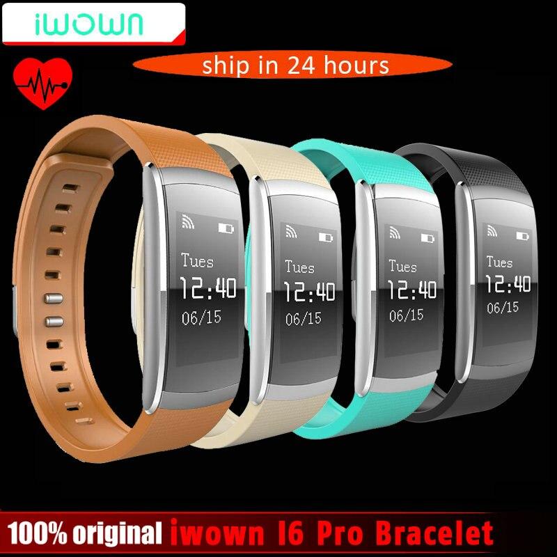 New Iwown Iwownfit I6 PRO Smart Wristband Heart Rate Monitor IP67 Waterproof Smart Bracelet Fitness Tracker