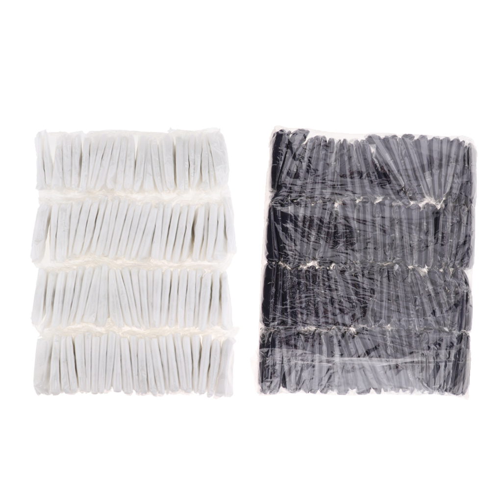 100Pcs Women Bikini Wax Disposable Panties Thong Underwear T-string Underpants Individually Wrapped - White & Blue Optional