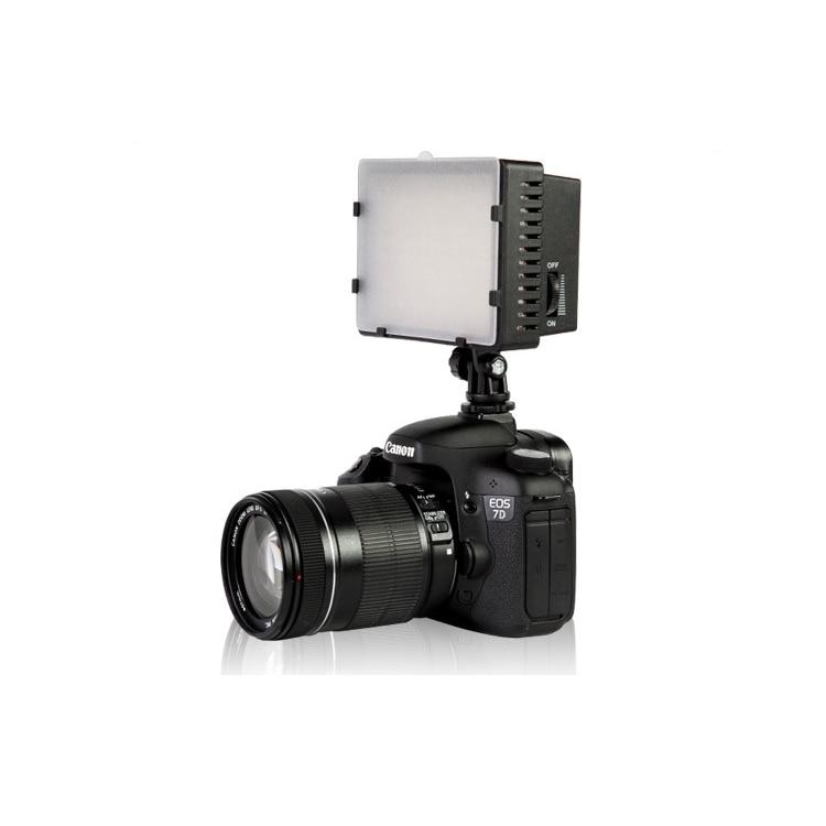 free ship Nanguang CN-160, CN 160 LED Video Camera Light DV Camcorder Photo Lighting 5400K For Canon Nikon фотографическое освещение cn 160 12w 1280lm nikon canon dslr