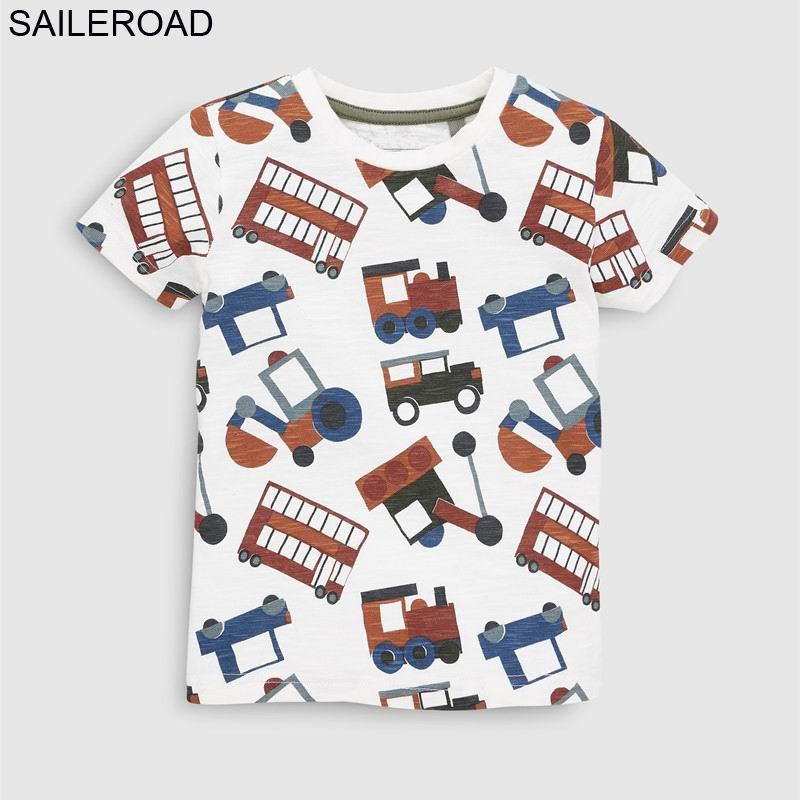 SAILEROAD Baby Tops Short-Sleeve T-Shirt Girls Clothes Boys Cotton Children Summer