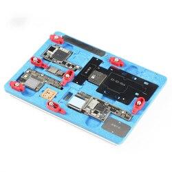 MJ K20 wielofunkcyjny naprawa płyty głównej oprawa dla iPhone X/XS/XS MAX wielofunkcyjny zapobiec wybuchowe cyny zacisk do naprawy w Zestawy elektronarzędzi od Narzędzia na