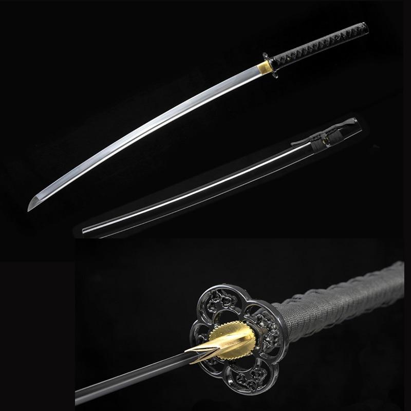 ruční bushido katanas meče katanas samurajské japonské meče Sharp katana Kovová řemesla
