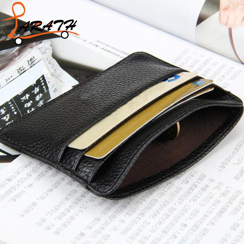 Business Card Wallet Women ID Credit Card Holder Coin Purse Casual ...