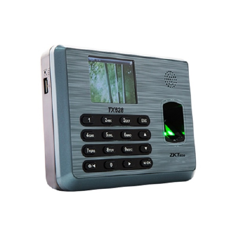 Zkteco TX628 TCP/IP 125K EM Card & Fingerprint Time Attendance Fingerprint time clock Employee Attendance Terminal high speed zk fingerprint time attendance terminal iclock360 125khz em id card punch card and fingerprint time clock system